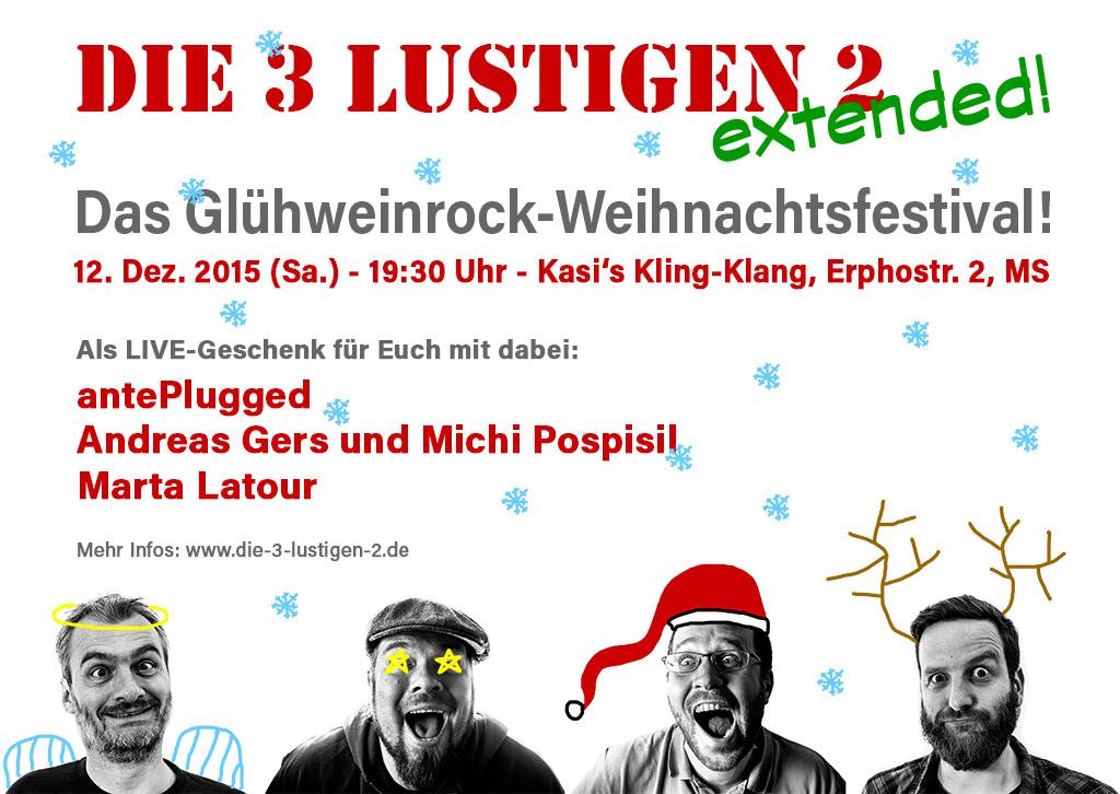 Das 3L2-Gluehweinrock-Weihnachtsfestival 2015