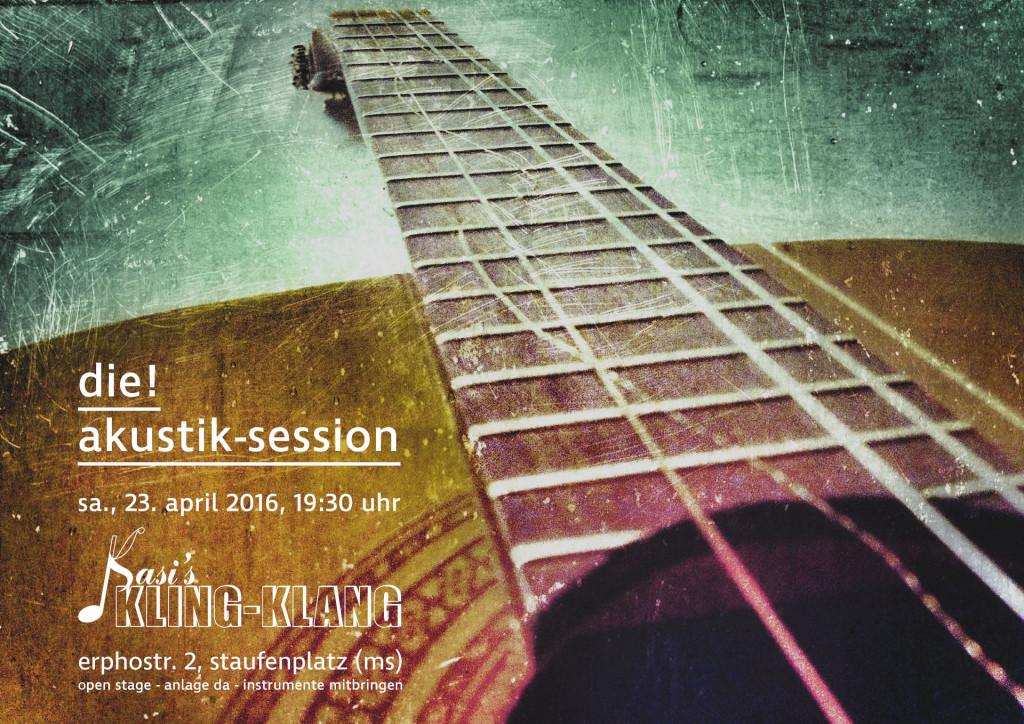2016-04-23 - Kling-Klang - Open Stage - Akustik-Session