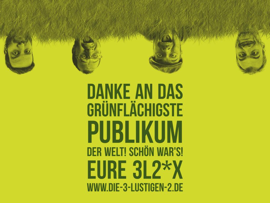 Die 3 lustigen 2 - Extended - Grünflächenunterhaltung Münster 2016 - Thanx