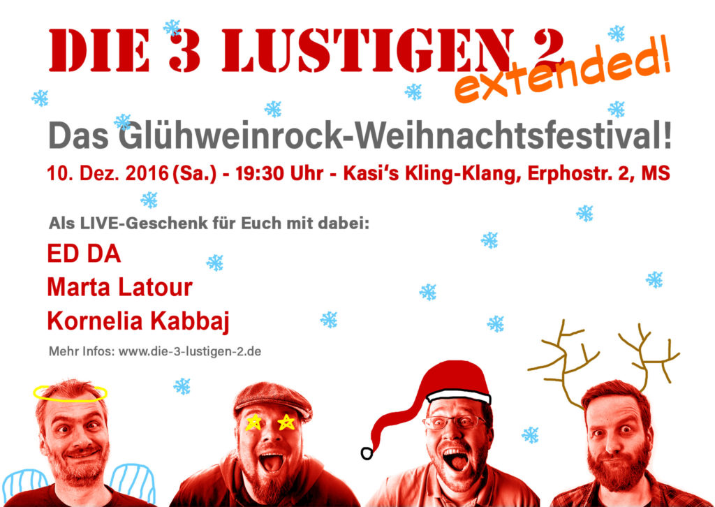 2016-10-10 3L2-Weihnachtsfestival Kling Klang Münster