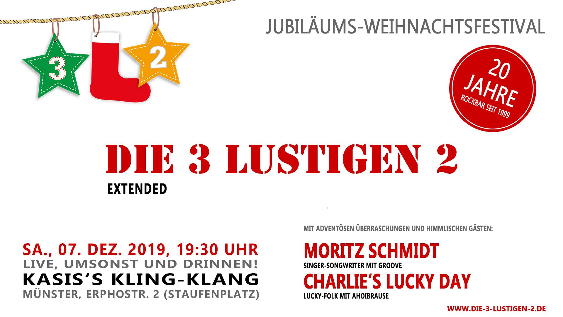Die 3 lustigen 2 - 3L2-Weihnachtsfestival - Kling-Klang Münster